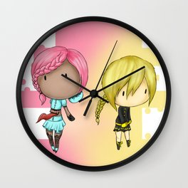 Mary And Marauder Wall Clock