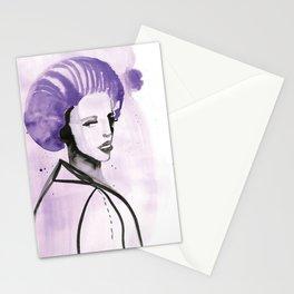 Purple Hair in Purple Haze Stationery Cards