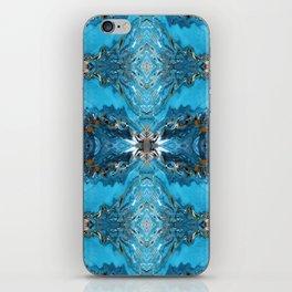 Liquid Turquoise iPhone Skin