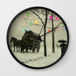 Christmas Day Wall Clock