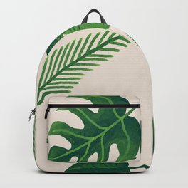 Tropical Rainforest Greenery Backpack