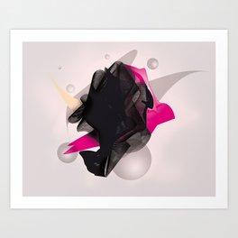 staple abstract Art Print