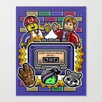 Everything is Awesome Mix Vol. 1 Canvas Print