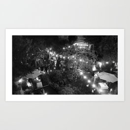 Night Out Art Print