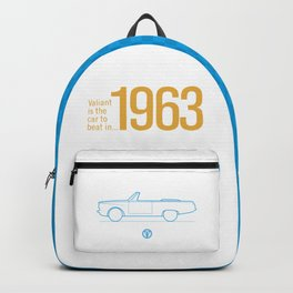 Valiant - The Car to Beat Backpack