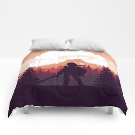 The Legend of Zelda - Orange Version Comforters
