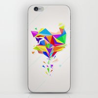 origami iPhone & iPod Skins featuring Origami by Harry Copeman
