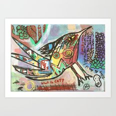 What to Eat Art Print