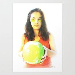 """Eve and Earth"" Art Print"