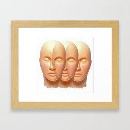3 is the Magic # Framed Art Print