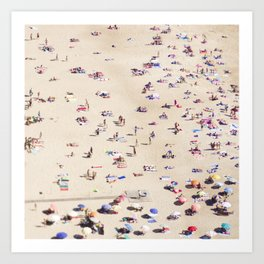 Beach Love VI Art Print