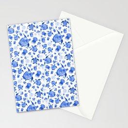 Ocean Life-Blue Palette Stationery Cards