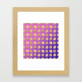 About Butts Framed Art Print