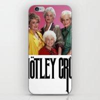 golden girls iPhone & iPod Skins featuring Golden Girls! Girls! Girls! by hellosailortees