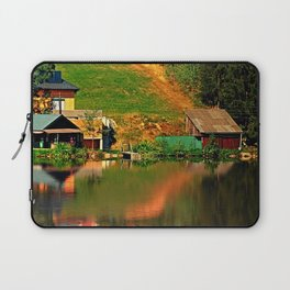 A village in the mirror Laptop Sleeve