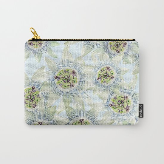 Passion flower Fever Carry-All Pouch