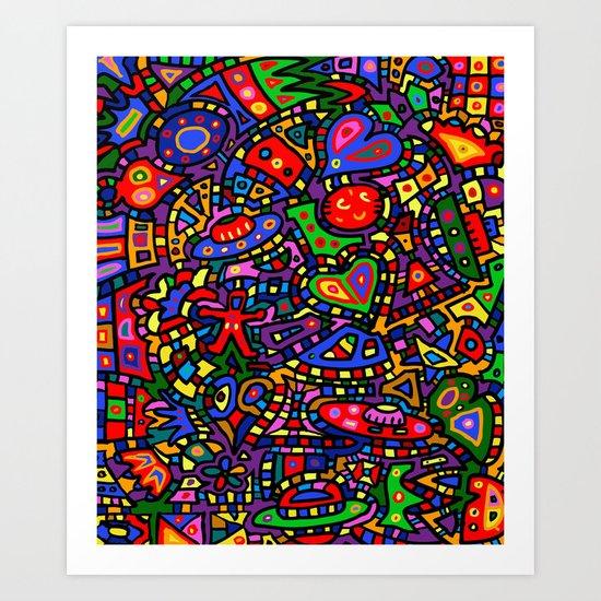 #453 Doodle #2 Art Print