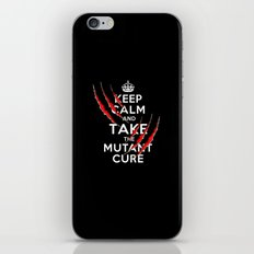 Keep Calm and Take The Mutant Cure (X-men) iPhone & iPod Skin