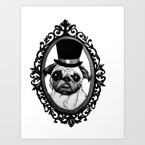 You Sir Art Print