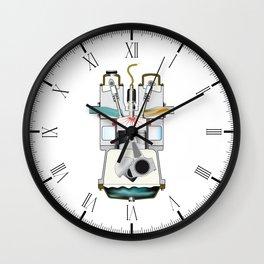 Ignition Stroke Wall Clock