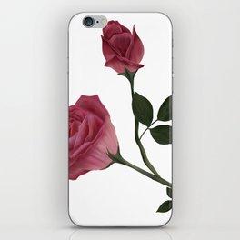 Mystical Maroon Rose iPhone Skin