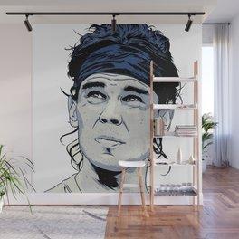 Rafael Nadal Illustrations Art Wall Mural