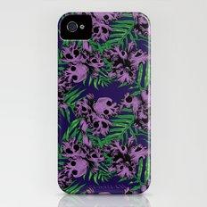 Orchid Skulls Slim Case iPhone (4, 4s)