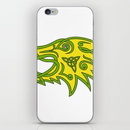 Boar Head Celtic Knot iPhone Skin