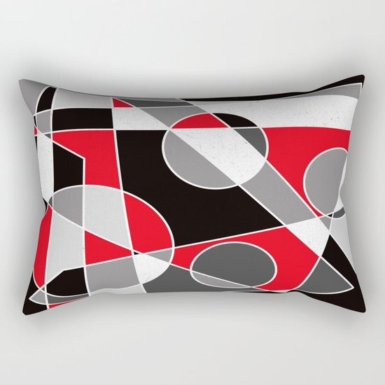 Abstract #101 Rectangular Pillow