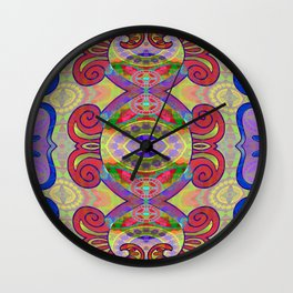Boujee Boho Circus Medallion Wall Clock