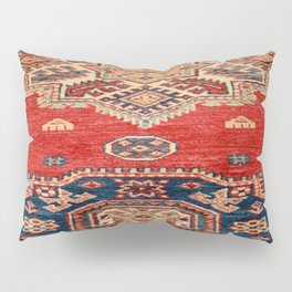 Natural Dyed Handmade Anatolian Carpet Pillow Sham