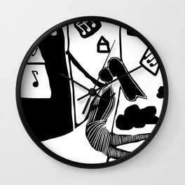 What a wonderful day ! Wall Clock