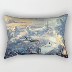 Peter Pan - The Second Star to the Right Rectangular Pillow