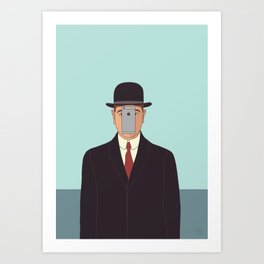 Son of Modern Man Art Print