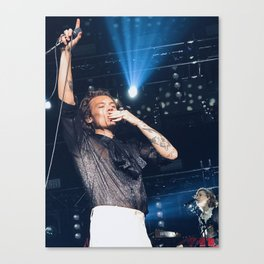 Harry Blowing Kisses Canvas Print