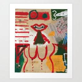 Pog Afterlife (Panel #9) Art Print