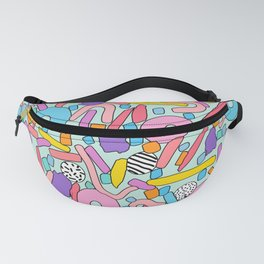 CIRCLES IN MOTION - candy Fanny Pack