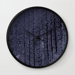 tire tracks are fun! Wall Clock