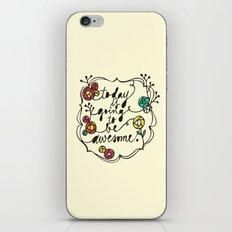 awesome iPhone & iPod Skin