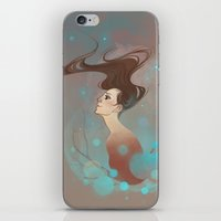 charlie iPhone & iPod Skins featuring Charlie by Sash-kash