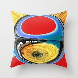 The Spit Throw Pillow