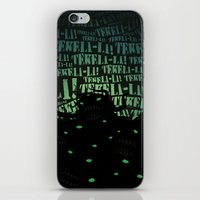 lovecraft iPhone & iPod Skins featuring Lovecraft Shoggoth by Steve Santiago