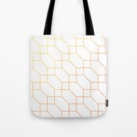 depeche mode Tote Bags featuring Mode Trois by blacknote