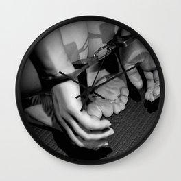 Handcuffed Wall Clock