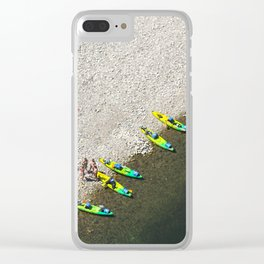Five Canoes Clear iPhone Case