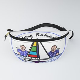 Beard Boy: Sailing Bohemia Fanny Pack
