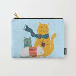 Cat cuddle -Hand Draw Carry-All Pouch