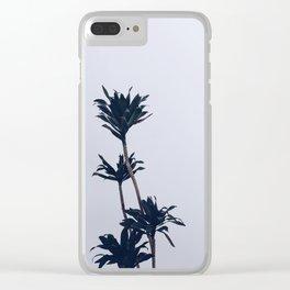 Dracaena Plant Clear iPhone Case