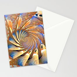 Vocal Amplification Frequency Stationery Cards