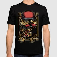 Storm Trooper Bubble Head Black MEDIUM Mens Fitted Tee